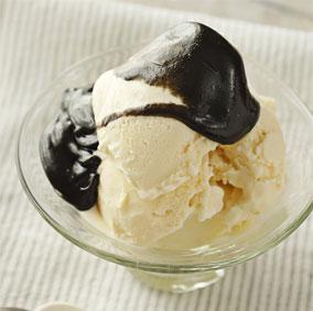 おやつで腸活習慣!黒ごまバニラアイス
