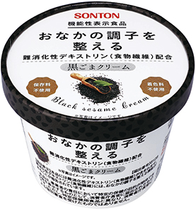 ソントン機能性表示食品 黒ごまクリーム