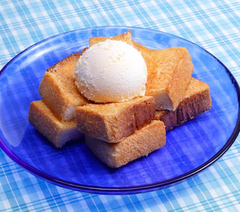 シュガートースト×アイスクリーム