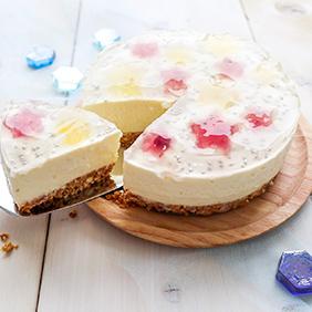 キラキラお星さまのチーズケーキ☆