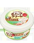 パンにぬるホイップクリームココナッツイメージ