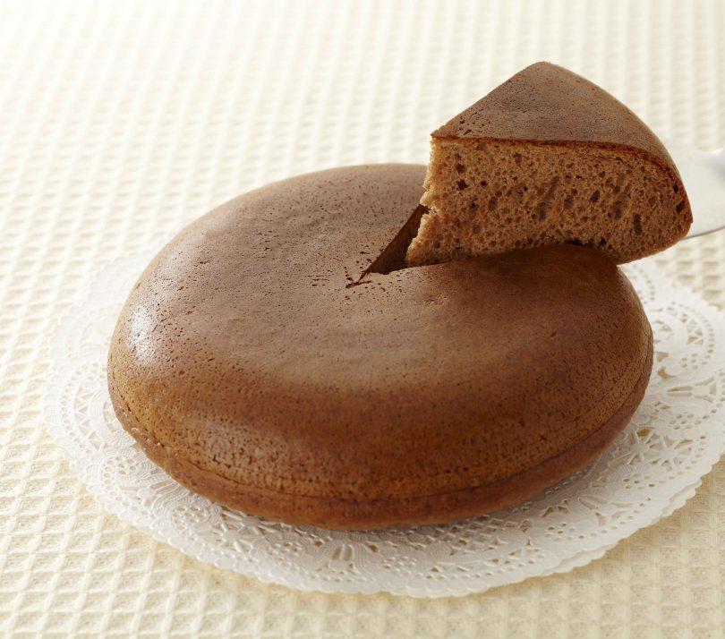 炊飯器で簡単!チョコバナナケーキ