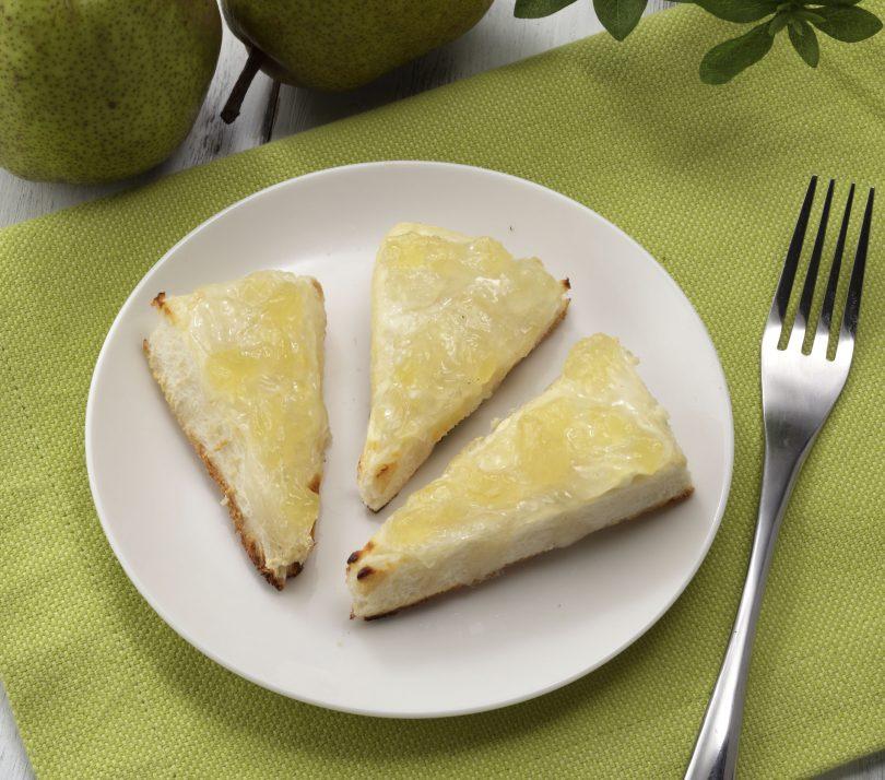焼きジャムのチーズケーキ風
